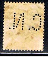 (BE 1560) BELGIQUE  // YVERT 257 (PERFORÉ / PERFIN: CN)  // 1927-28 - Perfins