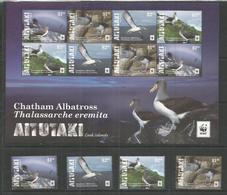 AITUTAKI - MNH - Animals - Birds - WWF - Birds