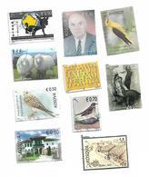 Kosovo Stamp Lot Of 10 Pises - Kosovo