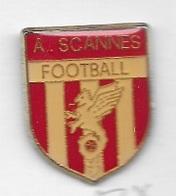 Pin's  Ville, Sport  Foot - Ball  A.S CANNES  ( 06 ) - Football