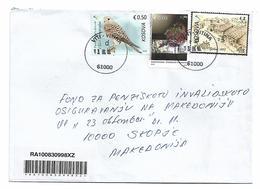Kosovo Stamp Bird Gastronomia And Art - Kosovo