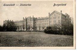 EISENSTADT - KISMARTON,  Kaserne Der Kraftradschützen, Verlag Popper Wien 1922, 27.6.1923 - Eisenstadt