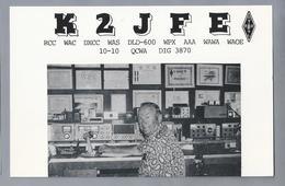 US.- QSL KAART. CARD. K2JFE. PAUL WIEGERT, STATEN ISLAND, NEW YORK. RICHMOND COUNTY. U.S.A. - Radio-amateur