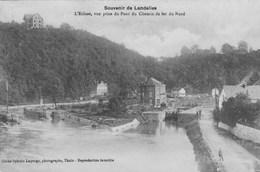 Souvenir De Landelies,vue Prise Du Pont Du Chemin De Fer Du Nord.  Scan - Belgium