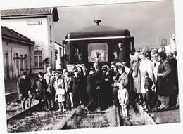 41411   -  Hannut   Gare  Train -  Photo 1972  -   12,5  X 9 - Hannut