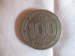 Etats D'Afrique équatoriale: 100 Francs CFA 1968 - Pied-fort - Andere - Afrika