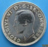 "Grande Bretagne,  1 Shilling Georges VI ""Lion D'Angleterre"" 1946, SUP - 1902-1971 : Monete Post-Vittoriane"