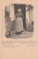 Carte Postale Ancienne Du Folklore Du Berry - Mme Chamblant - Extrait De George Sand - Vers 1900 - France