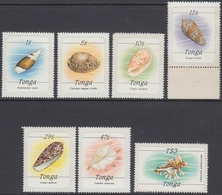 Tonga 1984 - Definitive Stamps Issues On 10 April 1984: Marine Life - Mi 873, 876, 879, 881, 883, 885, 888 ** MNH - Tonga (1970-...)