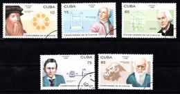 Cuba 1996 Mi Nr  3894 - 3898, Wetenschappers - Cuba