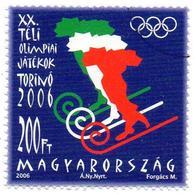 HUNGARY 2006 - MNH - SPECIMEN - Winter Olympic Games Torino ITALIY - Olympics 奥运会 Олимпийские игры - Winter 2006: Torino