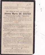 Tildonk, Muizen, Muysen, 1911, Joanna De Cosetr, Verdrengh - Religion & Esotérisme