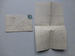PAIMBOEUF Pour Prahecq 1870, Avec TB Lettre,  Ref 484 ; PAP05 - 1877-1920: Semi-Moderne