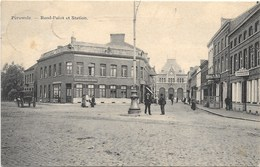 Péruwelz NA16: Rond-Point Et Station 1908 - Péruwelz