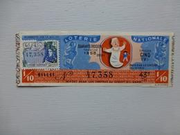 Loterie Nationale Billet TOURVILLE 1958  Ref 501 ; PAP05 - Lotterielose
