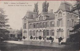 Melle Kasteel Chateau Les Fougeres A La Baronne De St Genois Des Mottes Noblesse 1908 (In Zeer Goede Staat) - Melle