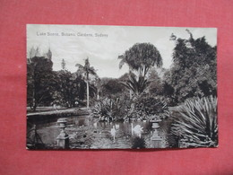 Lake Scene Botanic Gardens  New South Wales (NSW) > Sydney    -ref    3551 - Sydney