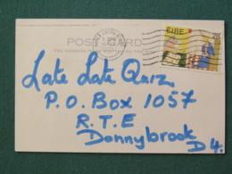 Ireland 1994 Postcard To Donnybrook - Christmas Angel - 1949-... République D'Irlande