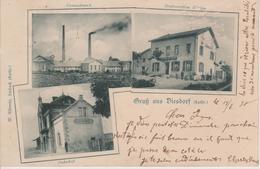 57 - DISTROFF - 3 VUES - LA GARE - RESTAURANT WEIGAND - Other Municipalities