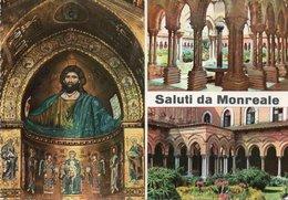 SALUTI DA MONREALE-VIAGGIATA -F.G - Palermo