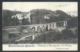 +++ CPA - REMOUCHAMPS - AYWAILLE - Château De Montjardin Et Viaduc  // - Aywaille
