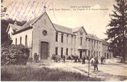 Pont Sur Yonne Asile Lamy Delestrez La Chapelle Et Le Nouvel Immeuble - Pont Sur Yonne