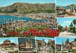 SALUTI DA PALERMO-VIAGGIATA -F.G - Palermo