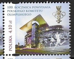 POLAND, 2019, MNH, OLYMPIC GAMES, POLAND OLYMPIC COMMITTEE, 1v - Olympic Games