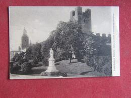 Castelfranco Veneto Antico Casteilo E Monumento Qiorgione - Treviso