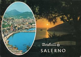 SALUTI DA SALERNO-NON VIAGGIATA -F.G - Salerno