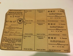 WW 2 Mahlkarte Mühle In Syren - Cartes Postales