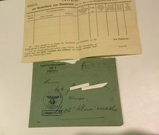 WW 2 Landesernährungsamt Bech Kleinmacher Herstellung Von Haustrunk - Cartes Postales
