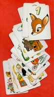 Jeu De Cartes DISNEY Reprenant Les Personnages De Ses Films (au Dos Mickey) ** à Jouer - Carte Da Gioco