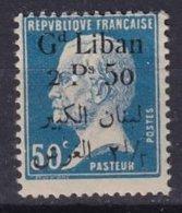 GRAND-LIBAN - 2, P. 50 Pasteur Sans Virgule TB - Great Lebanon (1924-1945)