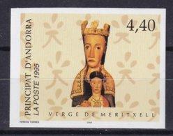 ANDORRE - Vierge De Meritxell Non Dentelé TTB - French Andorra