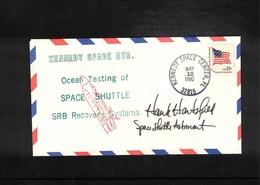 USA 1980 Space / Raumfahrt Space Shuttle Astronaut Hank Hartsfield Originally Signed - Briefe U. Dokumente