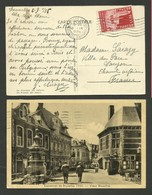 Carte Postale Exposition / BRUXELLES 08.09.1935 >>> SAUJON - 1935 – Brussels (Belgium)