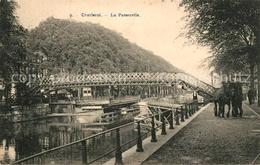 73513718 Charleroi_Hainaut_Wallonie La Passerelle Charleroi_Hainaut - Belgique