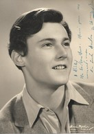 """Photo Dédicacée Didier D'YD Pour Sa Maquilleuse """"Nicky"""" - Photo Henri Mellin - 1951 - Très Rare - 13x18cm - Altri"""