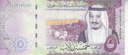 SAUDI ARABIA 5 RIYAL 2017 1438 P-38b KING SALMAN UNC NEW */* - Saudi Arabia
