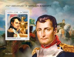 SIERRA LEONE 2019 - Napoleon S/S. Official Issue [SL190613b] - Napoléon