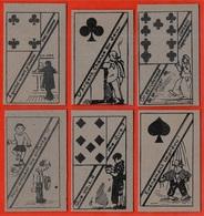 """Rare (Lot De 6) Cartes à  Jouer """"naïves"""" (pour Amuser Les Enfants) ** Jeu De - Cartes à Jouer Classiques"""