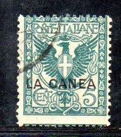 ETP994 - LA CANEA 1905 , Il N. 5  Usato   (2380A) - 11. Oficina De Extranjeros