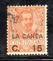 ETP1004 - LA CANEA 1905 , Il N.7  Usato   (2380A) - 11. Oficina De Extranjeros