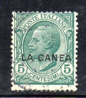 ETP1011 - LA CANEA 1907 , Il N.14  Usato   (2380A) - 11. Oficina De Extranjeros