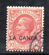 ETP1032 - LA CANEA 1907 , Il N.15  Usato   (2380A) - 11. Oficina De Extranjeros