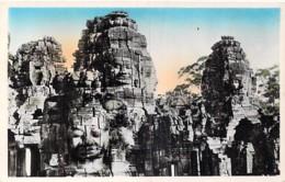 CAMBODGE Cambodia - ANGKOR : LE PALAIS Le Bayou - CPSM Photo Colorisée Format CPA Kambodscha Cambodgia Cambodja- - Kambodscha