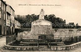 13489979 Quillan Monument Aux Morts Quillan - Unclassified