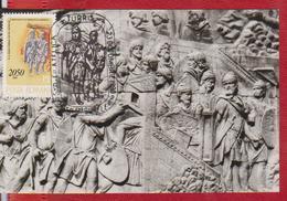 HISTORY TRAJAN'S COLUMN MAXIMUM CARD MAXICARD CARTES MAXIMAS ROMANIA - Maximumkaarten