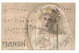 MANON Partition  Musique Opéra Artiste - Oper